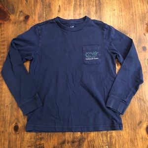 Vineyard Vines Holiday Long Sleeve Tee